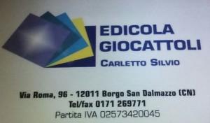 Edicola Giocattoli Carletto Silvio